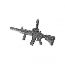 White Diamonds M416 Pendant